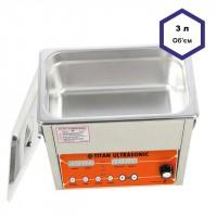 Ультразвуковая мойка (ванна) 3 литра с дегазацией
