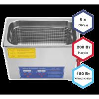 Ультразвуковая мойка (ванна) 6 л Jeken PS-30A