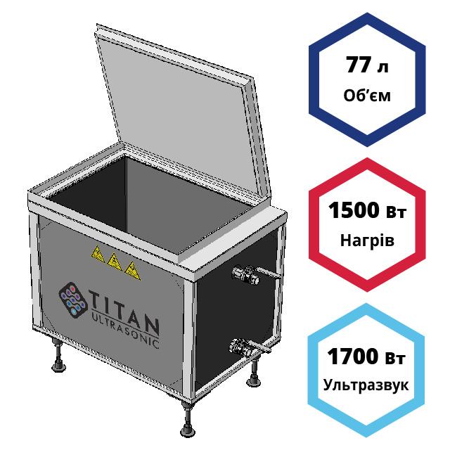 Ультразвуковая мойка (ванна) 77 литров